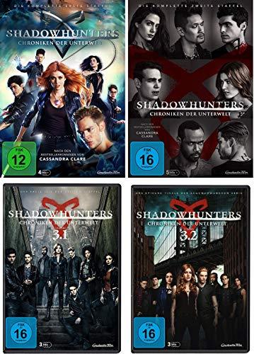 Shadowhunters - Staffel 1 - 3 ( 1.1 - 3.2 ) im Set - Deutsche Originalware [15 DVDs]