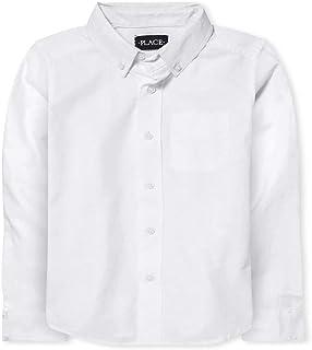 The Children's Place Boy's 3420 Long Sleeve Button Up Shirt Shirts