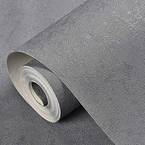 ACCEY Nordic grau Industrie Wind reine Pigmentfarbe Tapete Schlafzimmer Wohnzimmer Hintergrund Wand wasserdicht meliert tief geprägt Tapete A1181
