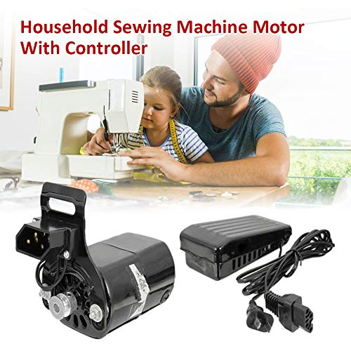 Best Deals! Loijon 220V 180W 0.9A Black Domestic Household Sewing Machine Motor With Controller