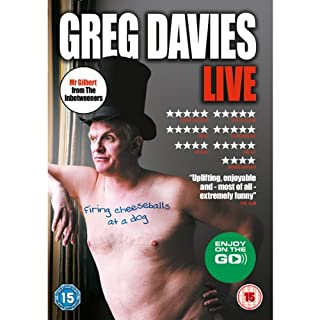 Firing Cheeseballs at a Dog                   By:                                                                                                                                 Greg Davies                               Narrated by:                                                                                                                                 Greg Davies                      Length: 1 hr and 16 mins     271 ratings     Overall 4.7