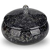 Favritt Ashtray with Lid Ceramic Ash Tray...