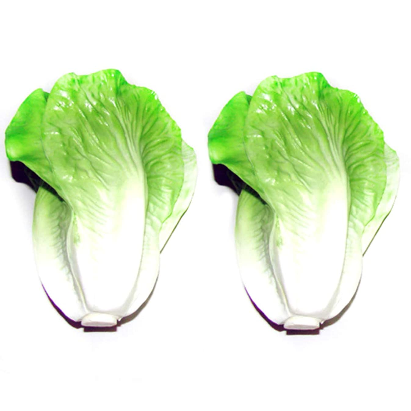 Generic Faux Lettuce Artificial Vegetables House Kitchen Party Decor Great Quality 2 Style