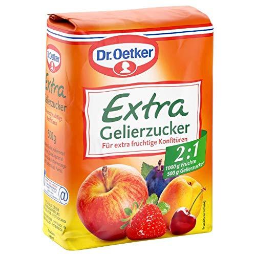 Dr. Oetker Gelierzucker Extra 2,1, 7er Pack (7 x 500 g Packung)