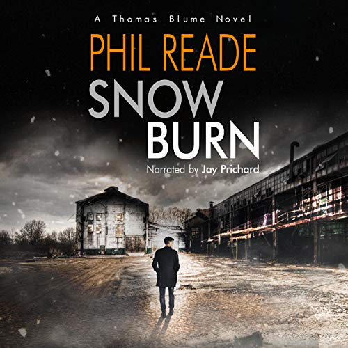 Snow Burn audiobook cover art