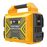 LIPOWER 300W Portable Power Station PA300, 296Wh/80000mAh Solar Generator Backup Power Supply, 110V Pure Sine Wave AC Outlet, 2 DC/Type-C PD45W / QC3.0/2 USB Outputs