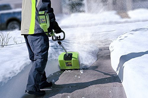 Snowy? Frosty? No problemo with an electric snow shovel 20