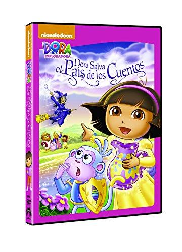 Dora La Exploradora: Dora Salva El País De Los Cuentos [DVD]