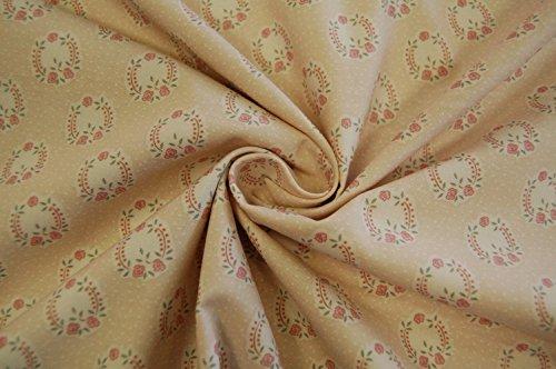 'Gütermann coton motif fleurs Rose