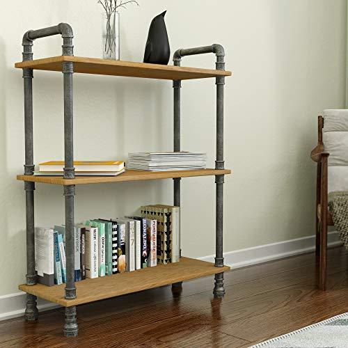 Natural Pine 3 Shelf Unit