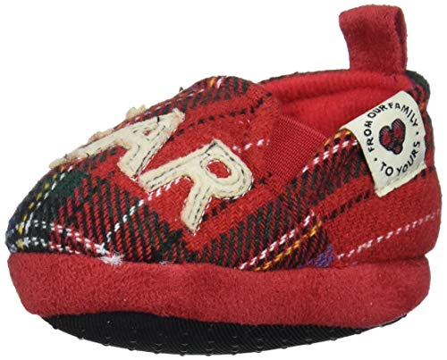 Disney Mickey Mouse Red and Black Infant Shoes (Black and White, 12_Months)