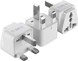 Ceptics World (USA, China, India & More) to UAE Travel Plug Adapter(Type G) - Perfect for using International Electronics ...