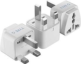 Ceptics AUS to UK, Ireland, UAE Travel Plug Adapter (Type G) - Perfect for using International Electronics in UAE - Charge...