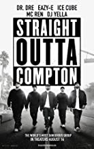 Straight Outta Compton - Movie Poster 24 x 36 Inches, Glossy Finish (Thick): Dr Dre, Eazy-E, Ice Cube