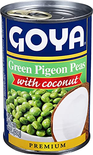 Goya Gandules Verdes con Coco - Paquete de 12 unidades (2005)