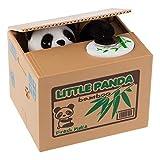 PowerKing Moneda de Robo de Monedas Panda Box - Piggy Bank - Panda Bear - Hablando en inglés - Gran Regalo para Cualquier niño (Panda) (Panda Box)