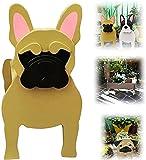 Dog Planters Wooden for Outdoor Plants, German Shepherd& French Bulldog Planter Pot/ Chihuahua Dog Planter/ Golden Retriever Planter/ Animal Shaped Cartoon Succulent Planter (C)