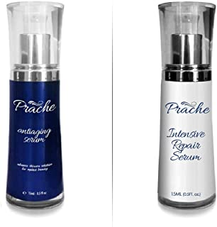 Prache Day and Night Anti Aging Intensive Repair Serum ? Skincare Face Serum & Eye Serum with Ingredients for Fines Lines & Wrinkles (Packaging May Vary)
