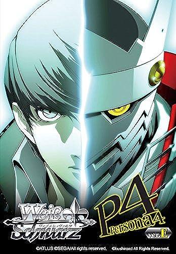1 x Weiss noir - Persona 4 de première instance Deck - ANGLAIS - BUSWSTDP4VE -. Bushiroad