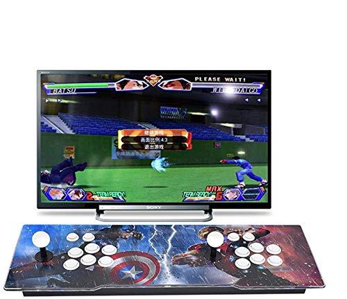 Theoutlettablet@ - 2706 Juegos Retro Consola Maquina Arcade Pandora Box Key 11 Video Gamepad VGA/HDMI/USB … Juegos 2D y 3D