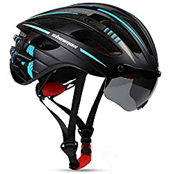 Shinmax Bike Helmet with USB Rechargeable LED Light review