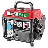 Valex - Generador de 2 tiempos catalizado Pocket 1000, rojo y negro
