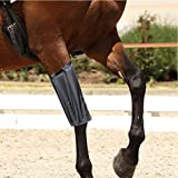 Gr8 Fitness Black Horse Knee Patella Support Brace Sleeve Wrap Cap Stabilizer Sports Hot And Cold Pack Leg Bandage Bands