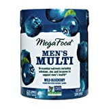 MegaFood, Men's Multi Gummies, Multivitamin with B Vitamins, Selenium & Zinc, Non-GMO, 60 Gummies (30 Servings)