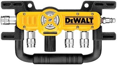 DEWALT D55040 Quadraport Air Line Splitter with Regulator