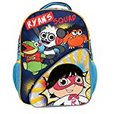 16 INCH RYAN BACKPACK - The roomy main compartment fits folders, binders, notebooks, & a lunch box - or lots of Ryan's World toys!. The elasticized mesh side pockets hold water bottles in place, & the front zip pocket keeps writing & coloring supplie...
