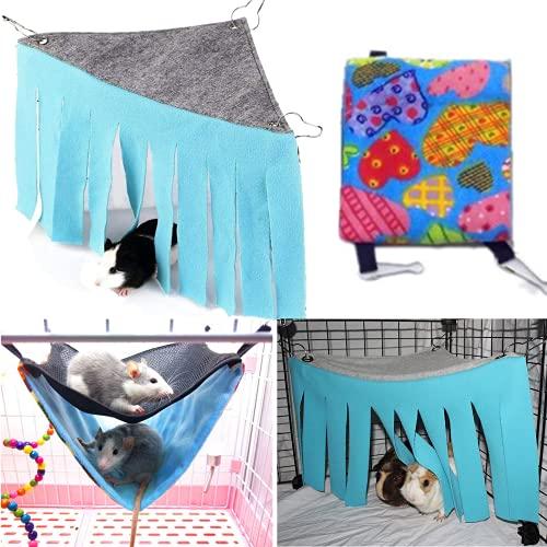 bangminda Tienda de campaña para hámster de un animal, para mascotas, escondite, jaula para nido, cama para animales pequeños, para ratas, hámsters, chinchillas, ardillas, cobayas