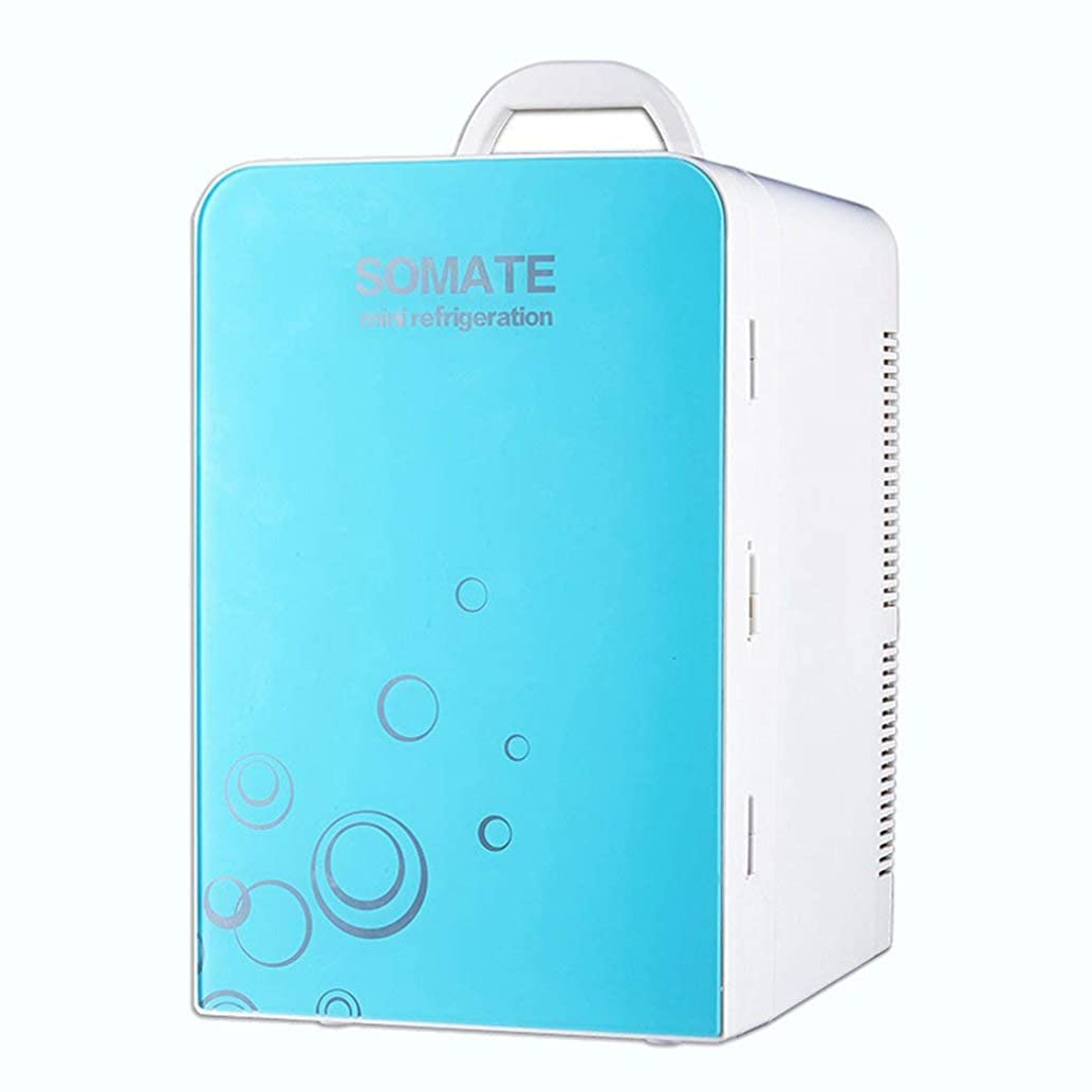 MOM Mini Fridge - 20L Compact Refrigerator Holds 30 X 330Ml Cans  ,Blue