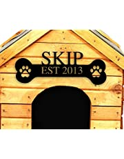 Pet Name Sign, Metal Dog Sign, Gepersonaliseerde Hond presenteert Gepersonaliseerde Metal Sign voor Hond, Pet naam teken, gepersonaliseerd cadeau voor hondenliefhebbers