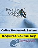 CengageNOW (with Personal Tutor) for Serway's Essentials of College Physics, 1st Edition