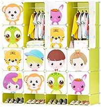 Cubic Closet, MultiColor - H 165 cm x W 147 cm x D 37 cm