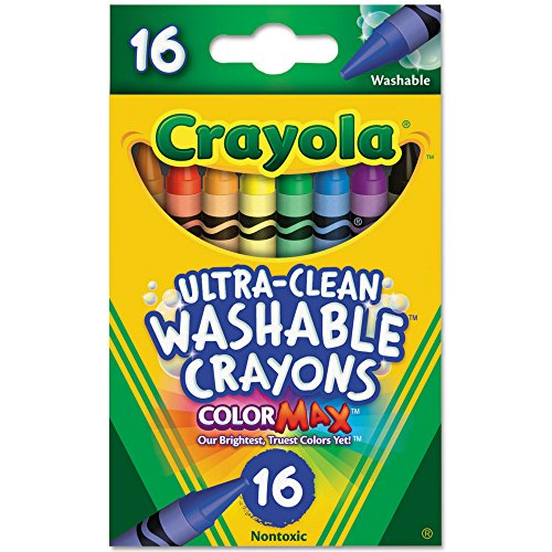 Crayola Ultra-Clean Washable Crayons 16 Each (Pack of 36)
