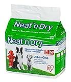 IRIS USA Neat 'n Dry Premium Pet Training Pads, Regular, 17.5' x 23.5', 50 Count, White (301587)