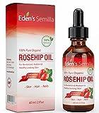 100% Pure Rosehip Oil - 2 OZ - Certified ORGANIC - Cold pressed & unrefined - NON Greasy HIGH...