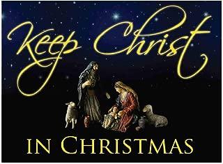 Best keep christ in christmas yard signs Reviews
