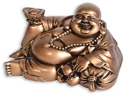 BUDDHA FIGUR LIEGEND, GLÜCKSBRINGER, GLÜCKSFIGUR, HAPPY BUDDHA, SCHUTZ, WEISHEIT, HARMONIE, LIEBE, GESUNDHEIT, WOHLSTAND