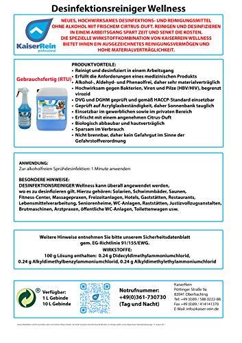 KaiserRein professional - Desinfektionsreiniger