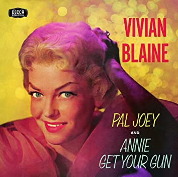 Vivian Blaine Singing Selections From Pal Joey/Annie Get Your Gun