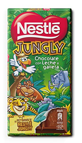 Nestlé Jungly Tableta 125g