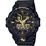 Casio G-SHOCK Orologio 20 BAR, Giallo/Nero, Analogico - Digitale, Uomo, GA-710B