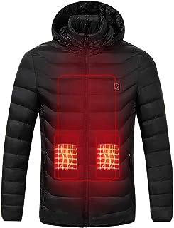 矢風が強い獲物電熱ジャケット 改良升級 バッテリー別売り 防寒 ジャケットスマート コート バッテリーなし ほっとコート秋冬用 USB加熱 3段温度調整 男女兼用