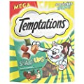 TEMPTATIONS ShakeUps Crunchy and Soft Cat Treats, Clucky Carnival Flavor, 5.29 oz. Pouch