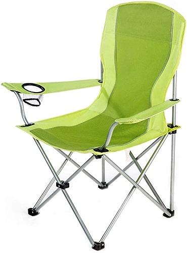 CATRP-Chaises de camping Pliant à Toute épreuve De Plein Air Pêche Chaises Portables avec Porte-gobelet, 5 Couleurs
