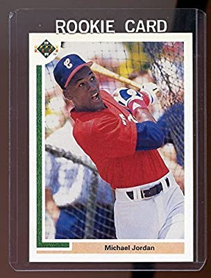 1991 Upper Deck #SP1 Michael Jordan Chicago Bulls Baseball SP RC Rookie Card - Mint Condition Brand New Holder