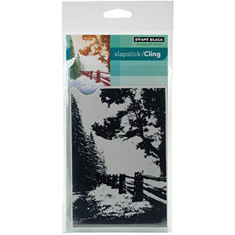 Penny Black 40-416 Hidden Lane Slapstick/Cling Decorative Rubber Stamp