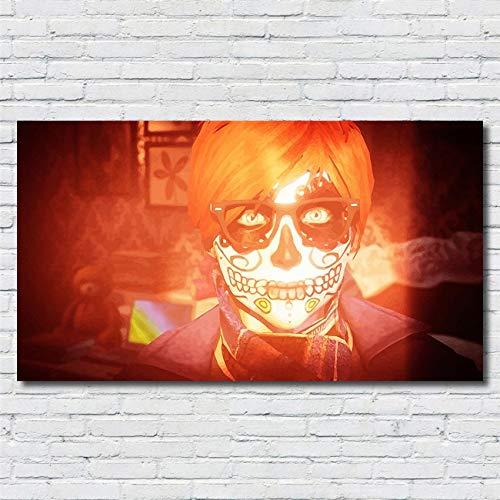 Cartoon Classico Anime One Piece Luffy Comic Poster Art Picture Skull Wall Art Home Decor HD Pittura Camera dei Bambini Tela Pittura 50 * 90 cm